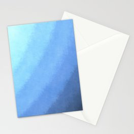 Ripple Effect - Textured Blue Ombre Stationery Cards