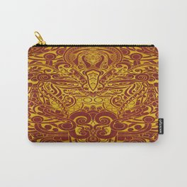 Balinese abstract art Carry-All Pouch