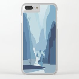 My Nature Collection No. 4 Clear iPhone Case
