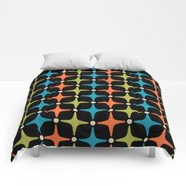 Mid Century Modern Star Pattern 931 Comforters