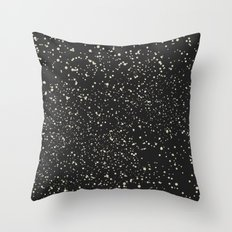 Stars and Dots Throw Pillow