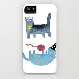 Festival Cats iPhone Case