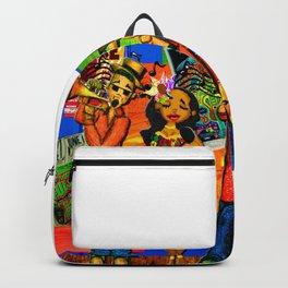 Lady & Giraffe Band Backpack