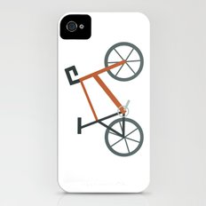 Orange Bike iPhone (4, 4s) Slim Case