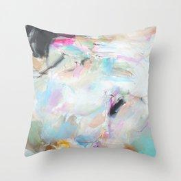 Feeling Pastel Throw Pillow