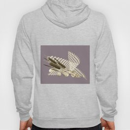 the reeds in the grid Hoody