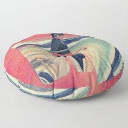 Rosie the Cosmic Riveter Floor Pillow
