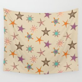 Fish tales: Starfish pattern 1a Wall Tapestry