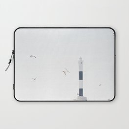 The new lighthouse at Dungeness Laptop Sleeve