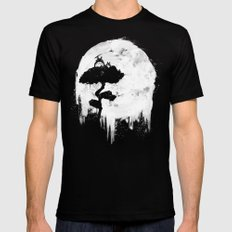 Midnight Spirits Mens Fitted Tee SMALL Black
