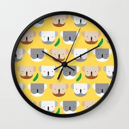 Kooky Koalas I Wall Clock