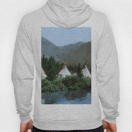 Blackfoot Camp Up the Cutbank in Montana Hoody