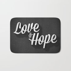 Love & Hope Bath Mat