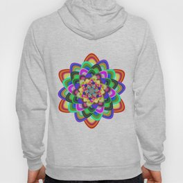 Hexagonal flower Hoody