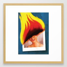 Sins of the Grandfather Framed Art Print