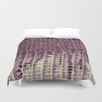 honeycomb Duvet Covers featuring Honeycomb by BellagioVista