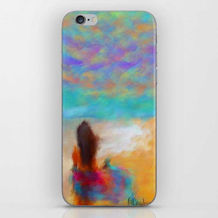 A Day At The Beach iPhone Skin