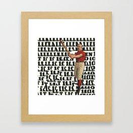 Home Rum Framed Art Print
