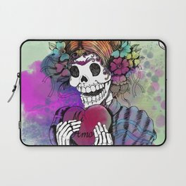 Day of the Dead Sugar Love Laptop Sleeve