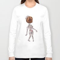 silent hill Long Sleeve T-shirts featuring Silent Nurse by TheArtofJC