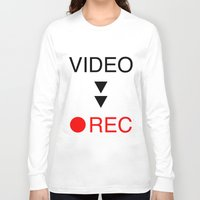 parks and rec Long Sleeve T-shirts featuring video rec by Takeru Amano