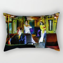 Subway Grooving Rectangular Pillow