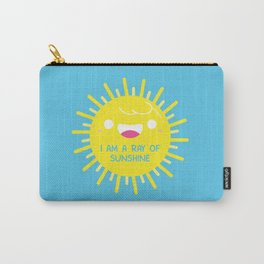 I Am A Ray of Sunshine Carry-All Pouch