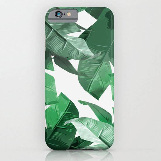 Tropical Palm Print iPhone & iPod Case