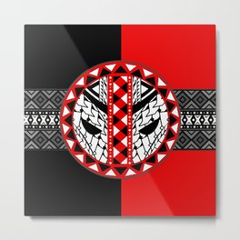 Dead Pool With Classic Pattern Metal Print