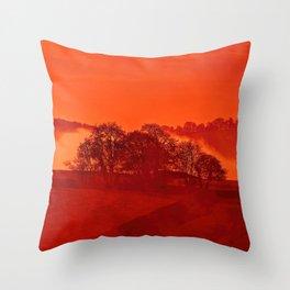 Fog 13 Throw Pillow