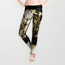 Gold Medusa Leggings