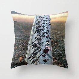 Mile 604 Throw Pillow