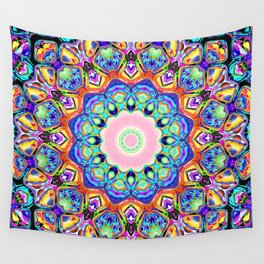 Abstract Spectral Pattern Wall Tapestry