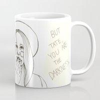 ahs Mugs featuring Violet AHS by Luna Perri