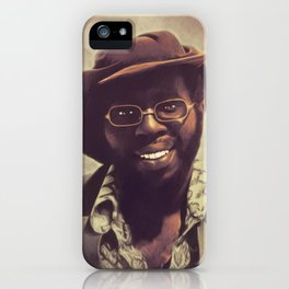 Curtis Mayfield, Music Legend iPhone Case