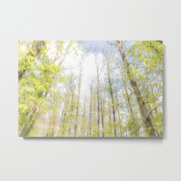 Colorful trees photography - Watercolor series #2 Metal Print