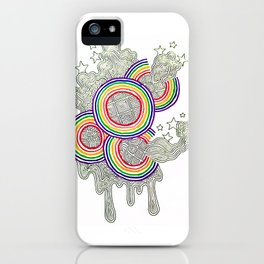 Bursting With Color iPhone Case