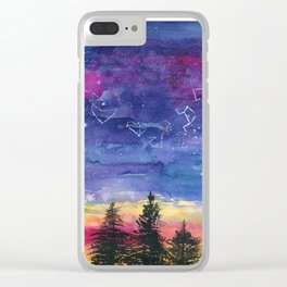 The Zodiac over Sequoia Clear iPhone Case