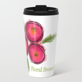 Floral Sweet Floral Travel Mug