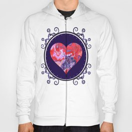 Red and Purple Cosmos Hoody