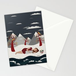 The River Stationery Cards