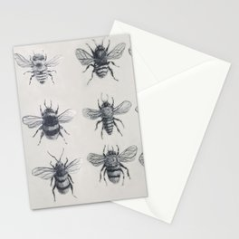 Bees Stationery Cards