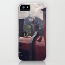 Train at the End of the World iPhone Case