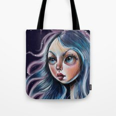 The Starry Sky - Pop Surrealism Illustration Tote Bag