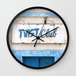 Twist Club Wall Clock