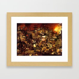 Mad Meg by Heironymus Bosch Framed Art Print