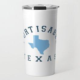 Port Isabel Texas. Travel Mug