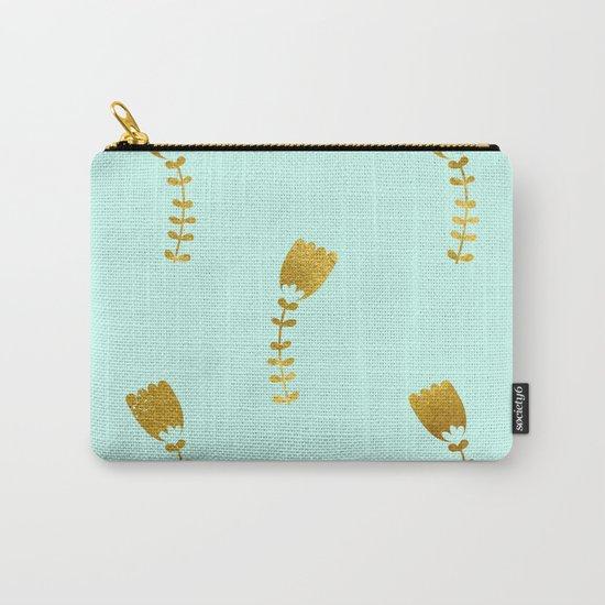Mint Gold Foil 03 Carry-All Pouch