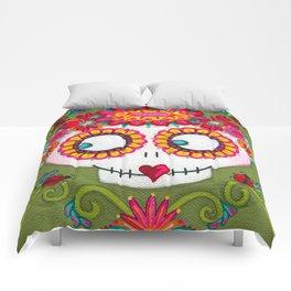 Catrina with Ladybugs Comforters