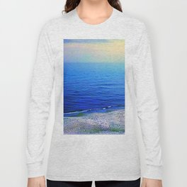 Curonian Spit. Coast of Baltic sea Long Sleeve T-shirt